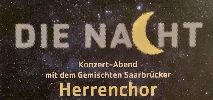 Die Nacht Konzert Plakat